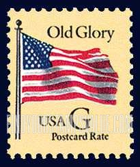 Old Glory G Stamp Value